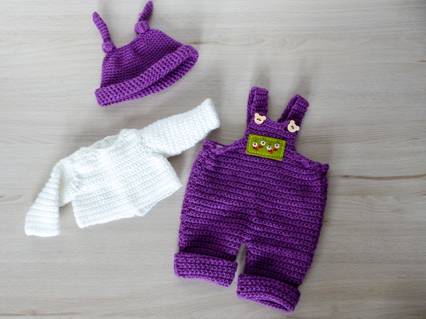 """Puppenkleidung """"Lilly"""" für Puppen von 30-48 cm, Knotenzeug, Kleidung ..."""