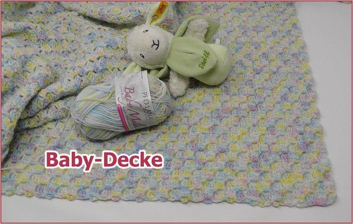 Babydecke C2c Pixel Look Gehäkelt Mit Baby Milk Von Pro Lana