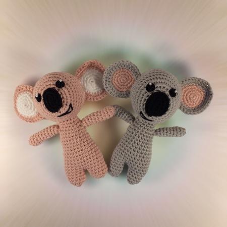 2 In 1 Häkelanleitung Niedlichen Koalabären Als Kuscheltier Oder
