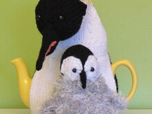 Emperor Penguin Duo Tea Cosy