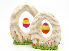 Hello Spring - Egg-Shape Decoration - Crochet Pattern