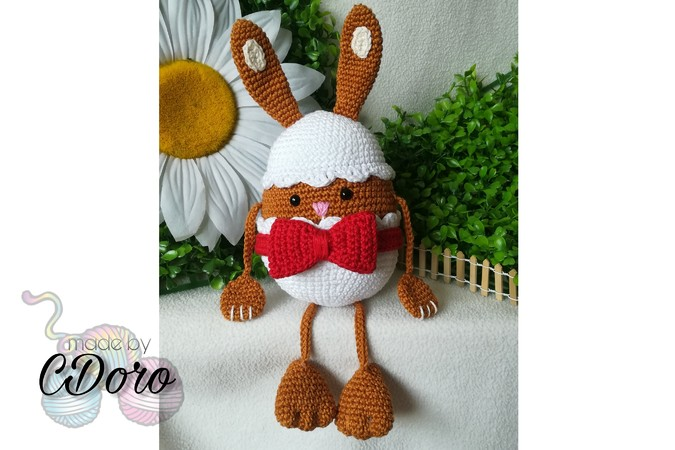 Eggs, in another way! Bunny & Chick - crochet pattern
