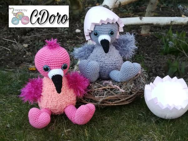 Flamingo Babys Häkelanleitung