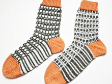 "Socken ""Two Dimensions"""