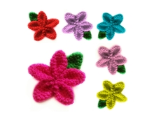 pattern flower amigurumi PDF english-deutsch-dutch