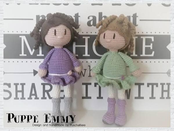 Häkelanleitung Puppe Emmy