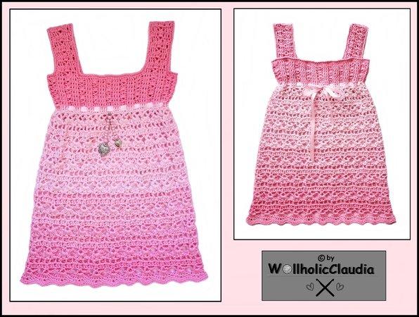 Kleid Häkeln Alle Gr Damen Mädchen