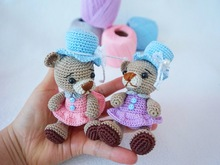 Little bear crochet pattern