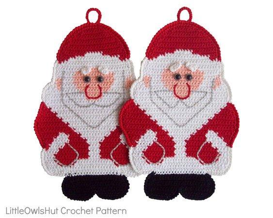Amigurumi Mini Santa Claus Crochet Pattern | 450x563