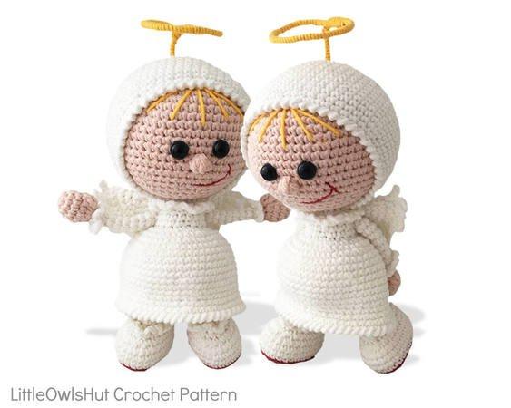 Divine Crochet Angel (Free Pattern) | AllFreeCrochet.com | 450x563