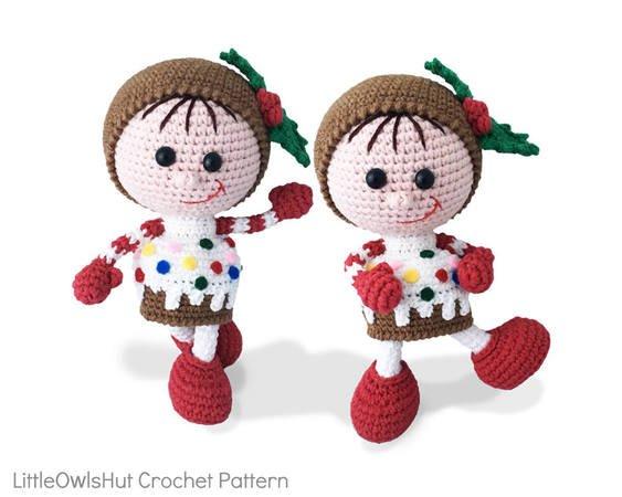 Amigurumi Cupcake Baby Doll Pattern | 450x563
