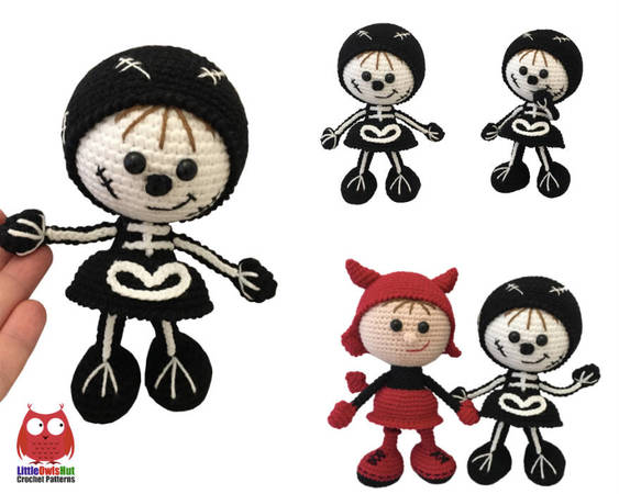 How to make your amigurumis and crocheted dolls poseable | Crochet ... | 450x563