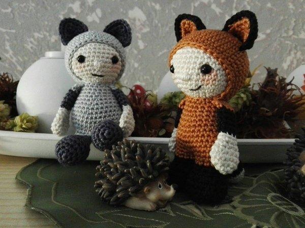 Häkelanleitung Fuchs Puppe