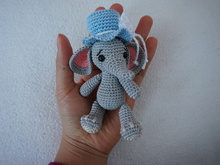 Little elephant crochet pattern