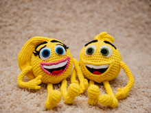 Emotion  - Smile face amigurumi