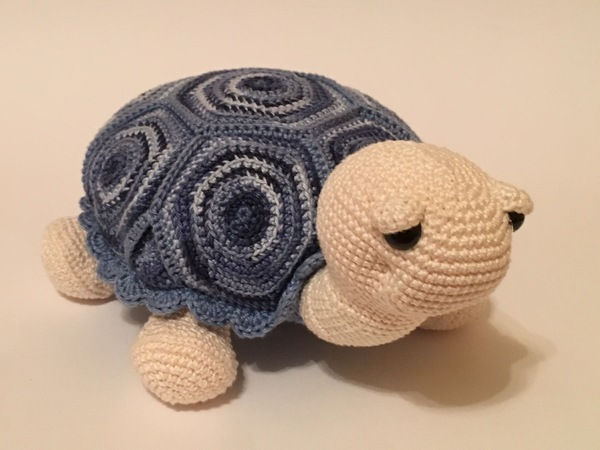 Häkelanleitung Schildkröte Paulina