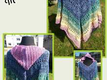 Poncho Midnight Summer
