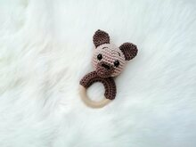 Teddy Rattle - Crochet Pattern