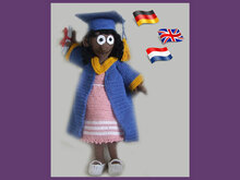 Graduated girl Elly