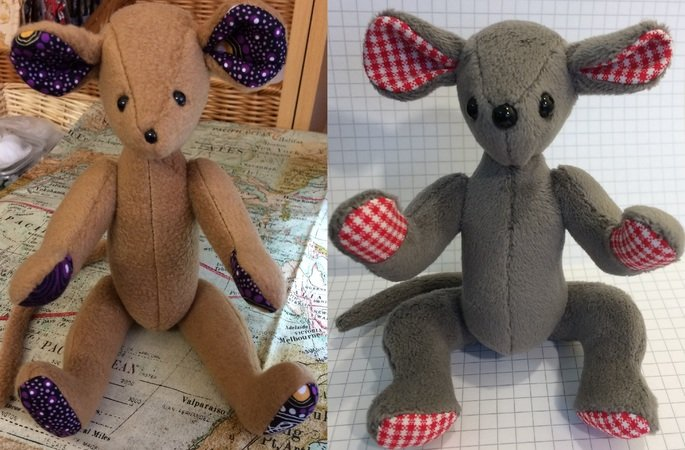 Henriette and Floriane Mouse