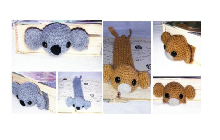 koala girl Candy - crochet pattern PDF | 450x708