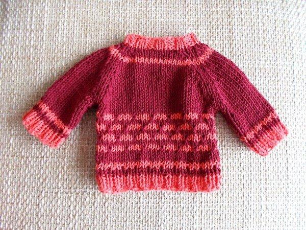 Pullover Für Bären Und Puppen 25 30 Cm Groß Strickanleitung