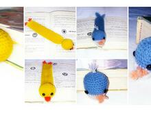 2 patterns Book Marker whale   chick !!!! PDF english-deutch