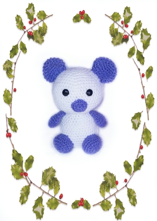 pattern bear PDF english-deutsch-dutch