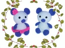 2 patterns bears in love PDF PDF english-deutsch-dutch