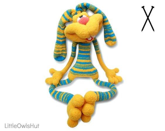 Knit Amigurumi Dog Toy Sofites Free Knitting Patterns | 450x563