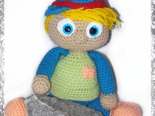 Crochet pattern of james, the rebel PDF english-deutsch