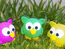 Crochet pattern for owl PDF english-deutsch-dutch