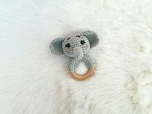 Elephant Rattle - Crochet Pattern