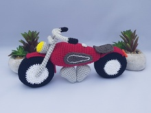 "Motor bike ""Hot Chopper"""