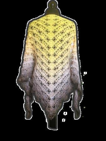 Dreieckstuch Häkeln Elegantes Lochmuster