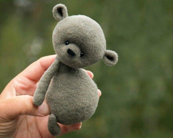 Amigurumi Bear Nose : Crochet pattern proshka the bear amigurumi toy pdf file by