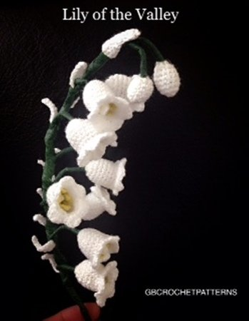 Flower Crochet Pattern Lily Of The Valley Flower