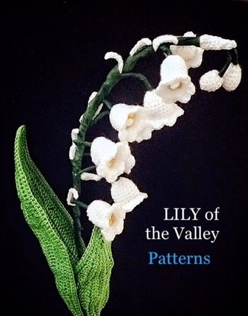 Flower Crochet Pattern, lily of the valley flower