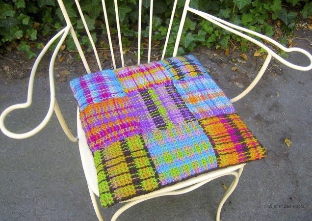 sitzkissen patchwork tartan f r anf nger polster im schottenmuster. Black Bedroom Furniture Sets. Home Design Ideas