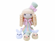 Lente Fee, Amigurumi Haakpatroon