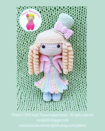 Curvy Female Doll Base No Sew - Amigurumi Crochet Pattern Girl ... | 450x360