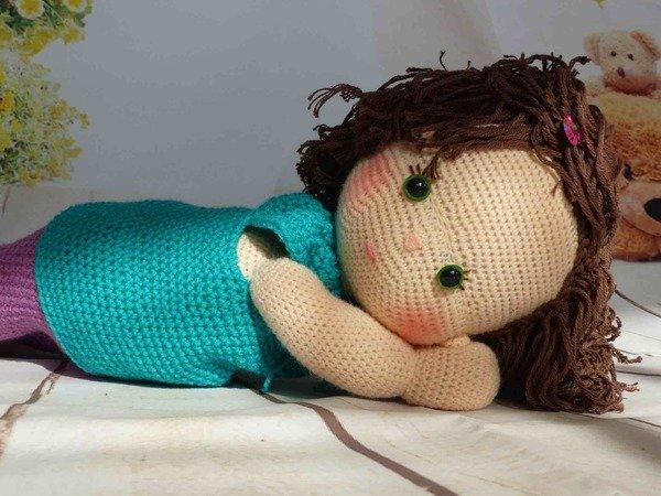 Puppe häkeln // Mädchen-Puppe häkeln // DIY