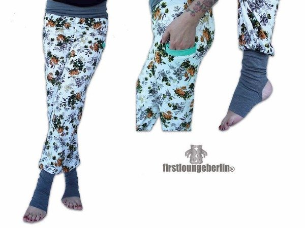 Yogi.HOSE - Yogahose Damen in 9 Größen 30/32 bis 56/58 Nähanleitung ...
