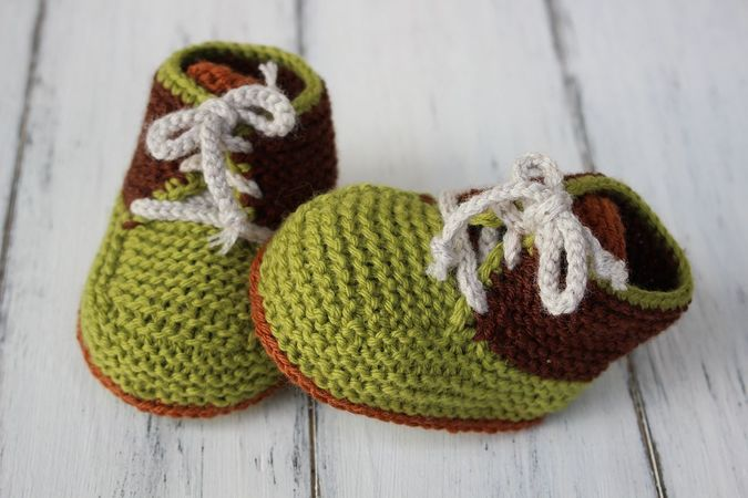 2 Pattern Deal - Baby Hat and Booties Knitting Pattern