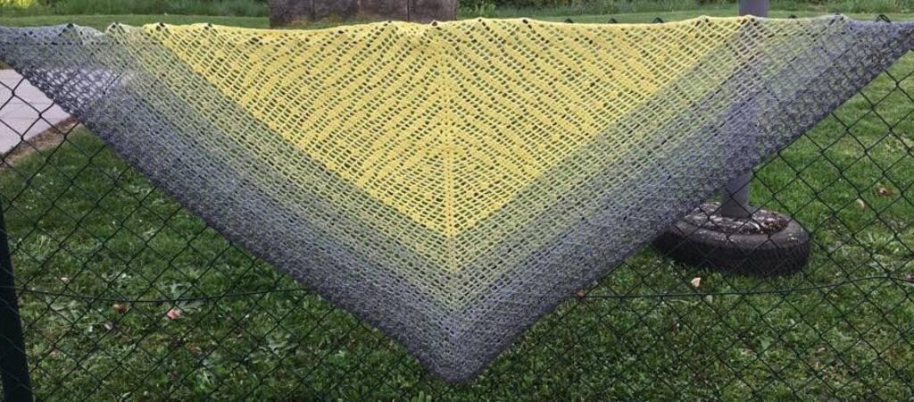 Dreieckstuch Häkeln Super Für Den Sommer