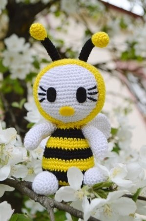Biene Häkelanleitung im Frühling!