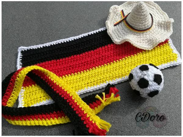 Ole & Jan! Soccer World Championship Edition - Crochet Pattern