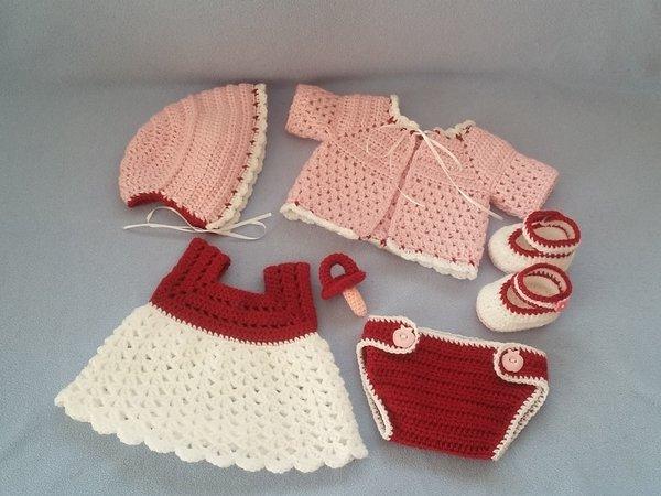 Puppenkleidung Häkeln Für Baby Emmi Häkeln