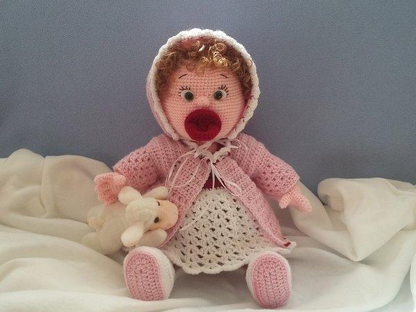 Häkelanleitung Puppenkleidung, Baby Emmi