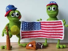 Ole & Jan! American Sporte Edition - Crochet Pattern